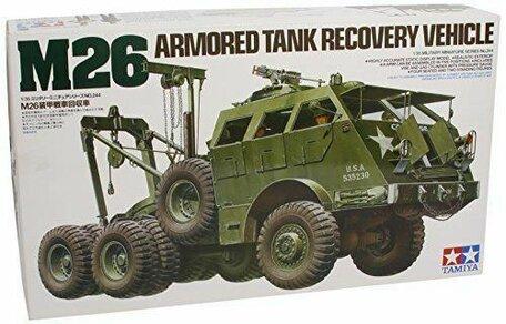 Tamiya M26 Armored Tank Recovery Vehicle 1:35