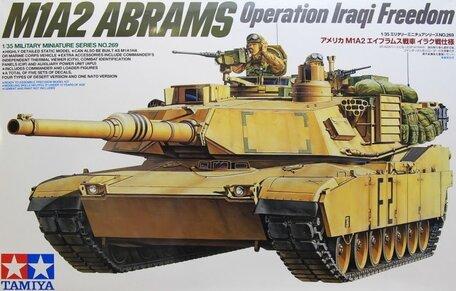 Tamiya U.S. M1A2 Abrams Operation Iraqi Freedom 1:35