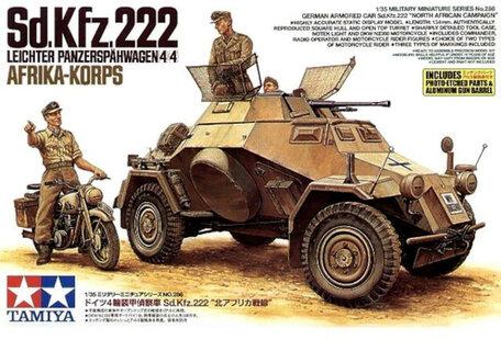 Tamiya Sd.Kfz.222 Leichter Panzerspähwagen 4x4 1:35