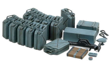 Tamiya German Jerry Can Set (Early Type) 1:35