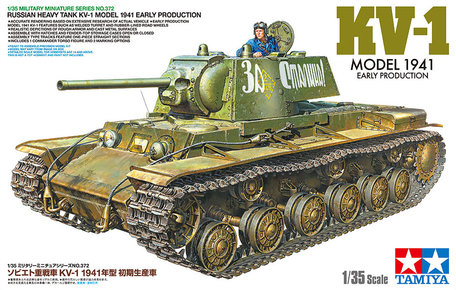 Tamiya Russian Heavy Tank KV-1 Model 1941 Early Production 1:35