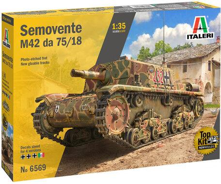 Italeri Semovente M42 da 75/18 1:35