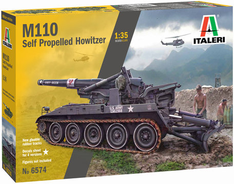 Italeri Self-Propelled Howitzer M110 1:35
