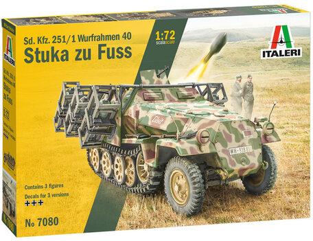 Italeri Sd. Kfz. 251/1 Wurfrahmen Stuka zu Fuss 1:72