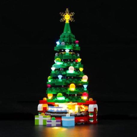 LEGO 40338 Christmas Tree + LED Verlichting
