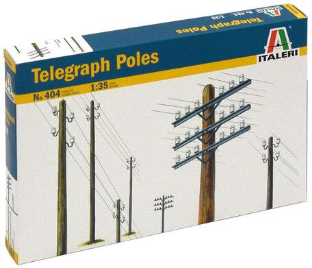 Italeri Telegraph Poles 1:35