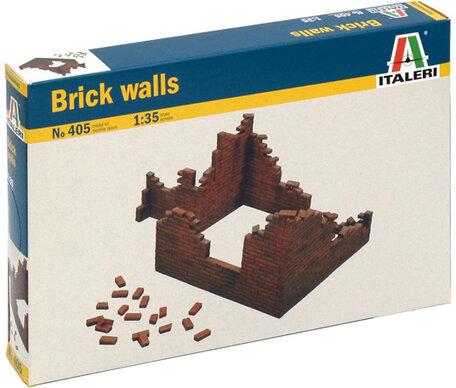 Italeri Brick Walls 1:35
