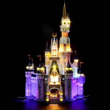 LEGO 71040 Het Disney Kasteel + LED Verlichting