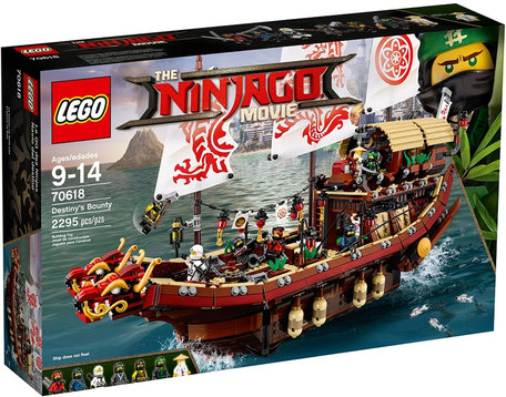 LEGO 70618 The Ninjago Movie Destiny's Bounty