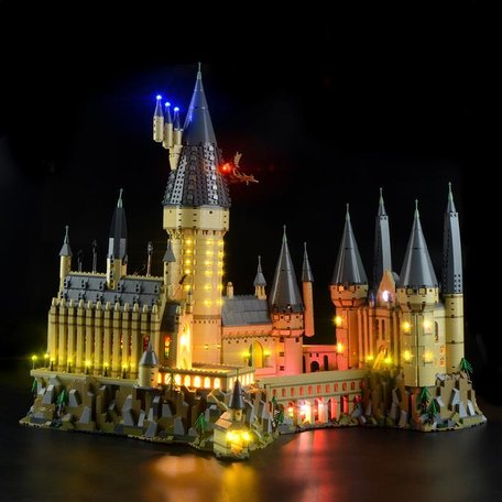 LEGO 71043 Kasteel Zweinstein + LED Verlichting