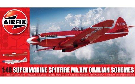 Airfix Supermarine Spitfire MkXIV Civilian Schemes 1:48