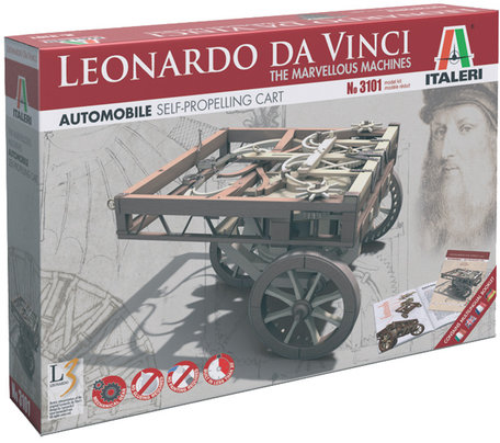 Italeri Leonardo da Vinci Self-Propelling Cart