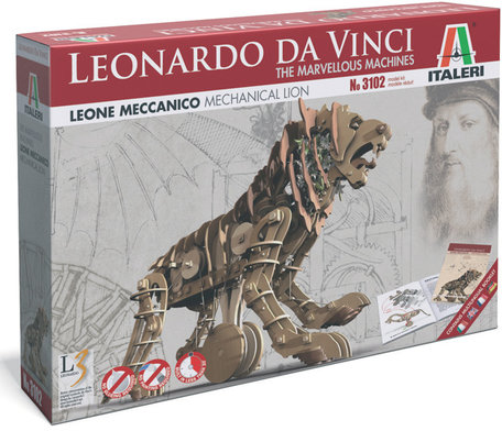 Italeri Leonardo da Vinci Mechanical Lion