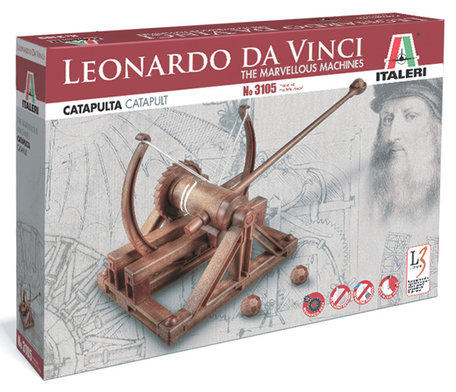 Italeri Leonardo da Vinci Catapult
