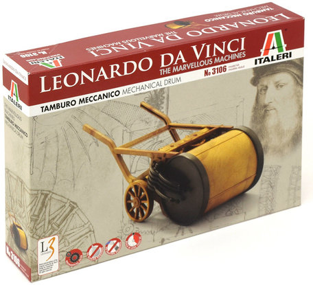 Italeri Leonardo da Vinci Mechanical Drum