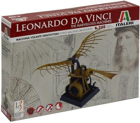 Italeri Leonardo da Vinci Flying Machine ORNITHOPTER