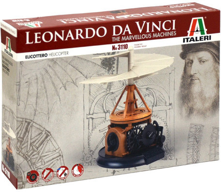 Italeri Leonardo da Vinci Helicopter