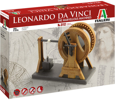 Italeri Leonardo da Vinci Leverage Crane