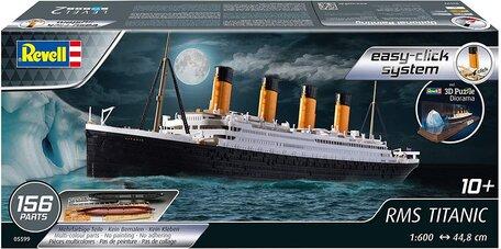 Revell RMS Titanic + 3D Ijsberg Diorama 1:600