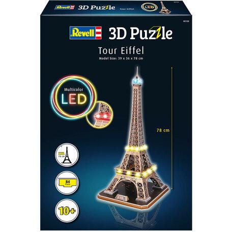 Revell 3D Puzzel Eiffeltoren + LED Verlichting