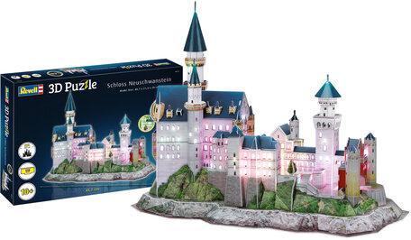 Revell 3D Puzzel Schloss Neuschwanstein + LED Verlichting