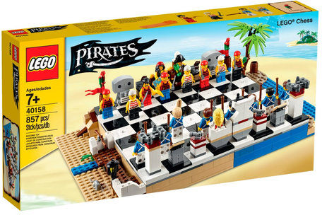 LEGO 40158 Piratenschaakset