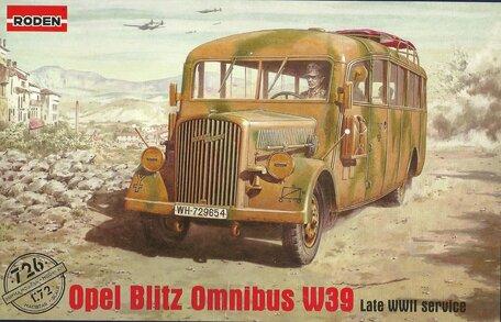 Roden Opel Blitz Omnibus W39 1:72
