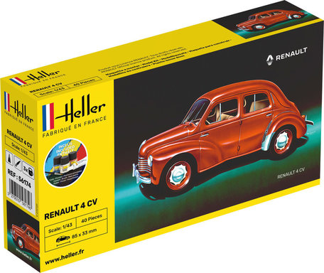 Heller Renault 4 CV 1:43