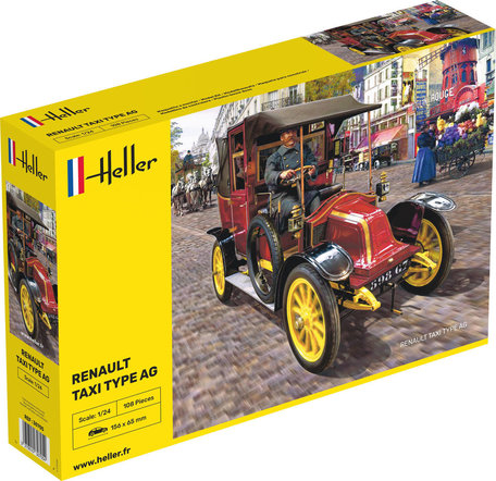Heller Renault Taxi Type AG 1:24