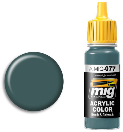 A.MIG 077: Dull Green