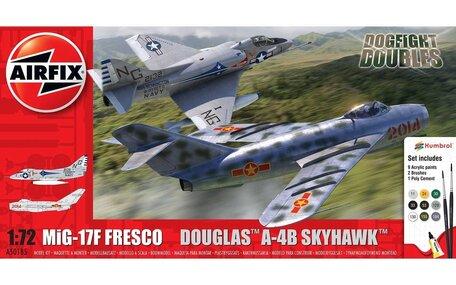 Airfix Mig 17 & Douglas Skyhawk Dogfight Double 1:72