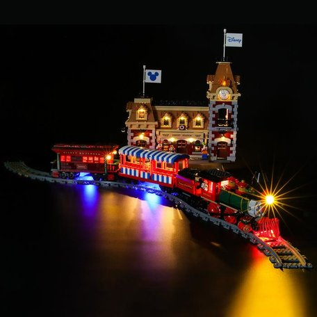 LEGO 71044 Disney Train and Station + LED Verlichting