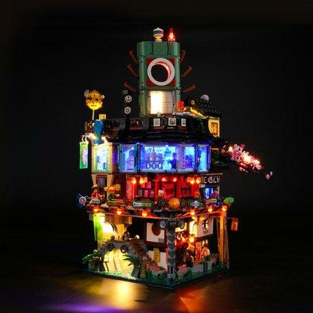 LEGO 70620 Ninjago City + LED Verlichting