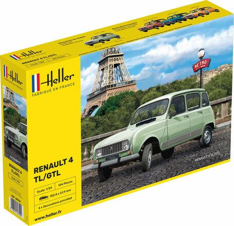 Heller Renault 4 TL / GTL 1:24