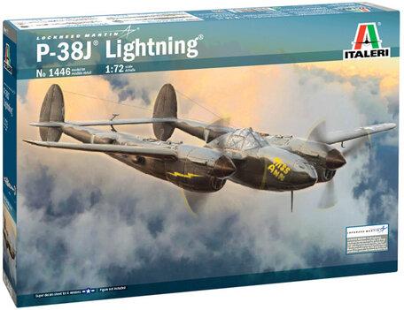 Italeri P-38J Lightning 1:72