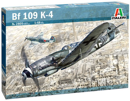 Italeri Bf 109 K-4 1:48