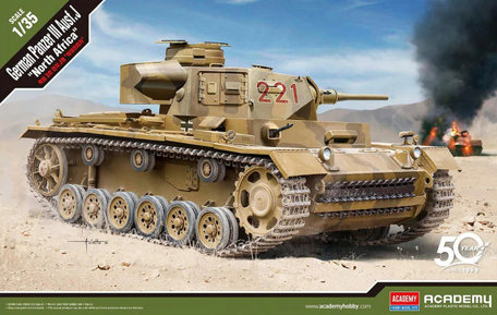Academy Panzer III Ausf. J North Afrika 1:35