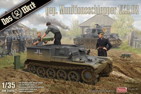 Das Werk Gepanzerter Munitionsschlepper VK3.02 1:35
