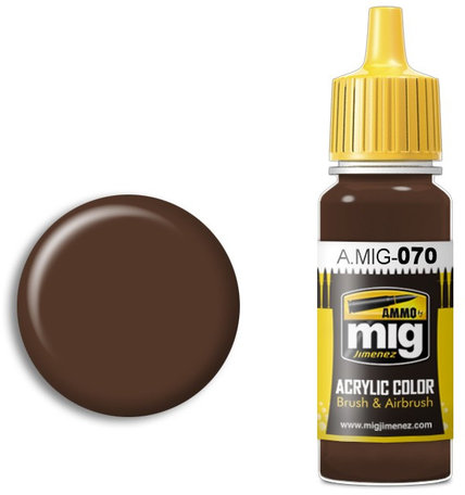 A.MIG 070: Medium Brown Dark Earth (BS 450)