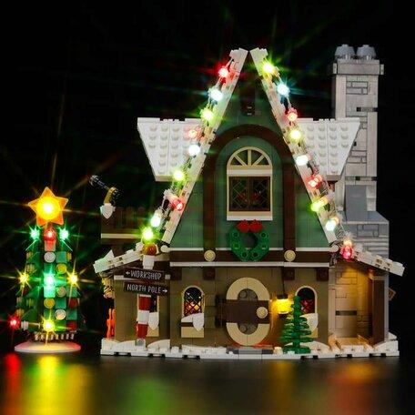 LEGO 10275 Elf Clubhuis + LED Verlichting