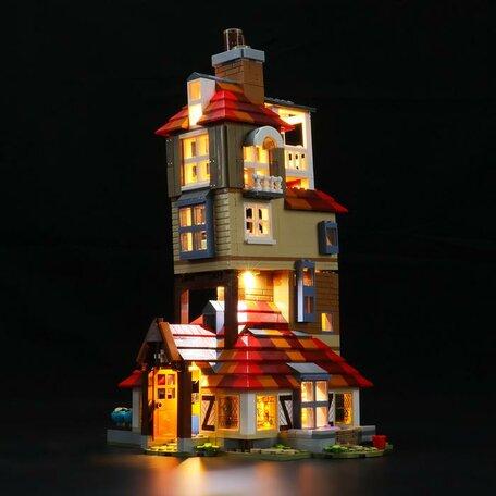 LEGO 75980 Aanval op Het Nest + LED Verlichting
