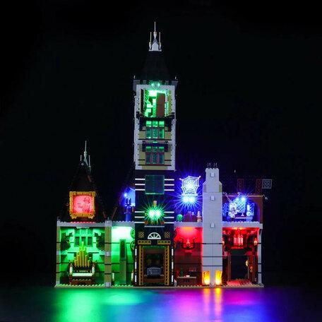 LEGO 10273 Spookhuis + LED Verlichting