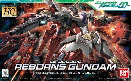 HG 1/144: CB-0000G/C Reborns Gundam