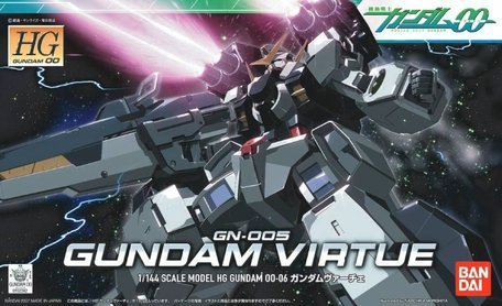 HG 1/144: GN-005 Gundam Virtue