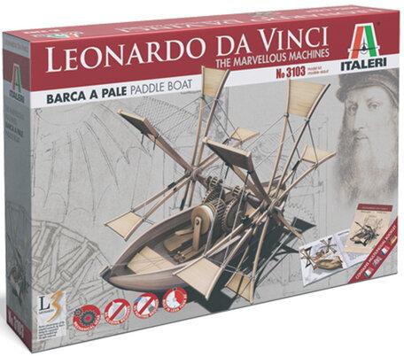 Italeri Leonardo da Vinci Paddle Boat