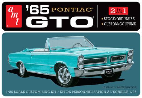AMT Pontiac GTO 1965 1:25