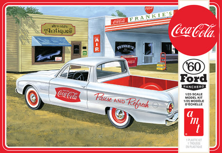 AMT Ford Ranchero Coke Chest (Coca-Cola) 1:25