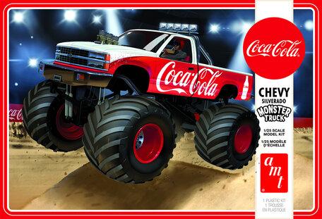 AMT Chevy Silverado Monster Truck 1988 (Coca-Cola) 1:25