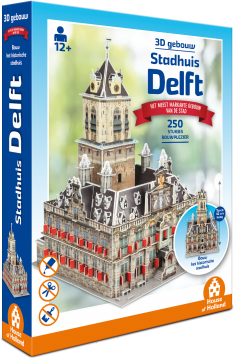 3D Gebouw Stadhuis Delft