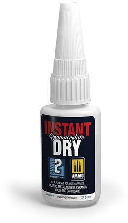 Seconde Lijm: AMMO Instant Dry Cyanoacrylate
